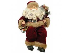 Άγιος Βασίλης Καθιστός με καμπανούλες