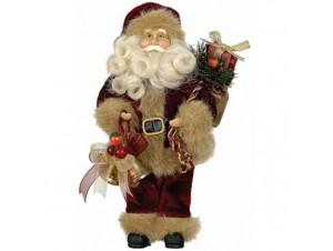 Άγιος Βασίλης Όρθιος με καμπανούλες και δώρα