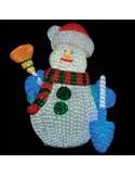 Χιονάνθρωπος Ακρυλικό με 2700 LED