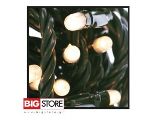 100 Λευκά λαμπάκια δέντρου επεκτεινόμενα ΠΔ