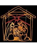 Φωτοσωλήνας σε σχέδιο Φάτνη