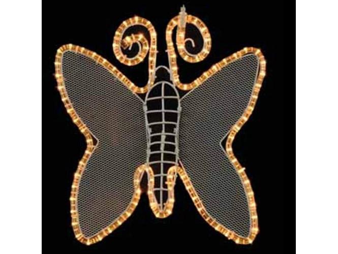 Φωτοσωλήνας σε σχέδιο πεταλούδα