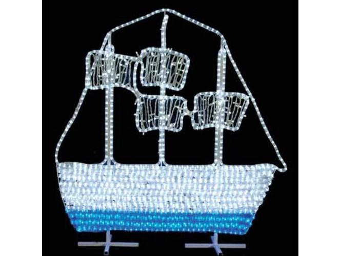LED φωτοσωλήνας σε σχέδιο Καράβι