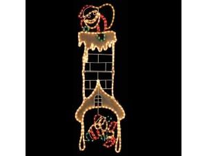 Φωτοσωλήνας σε σχέδιο Καμινάδα