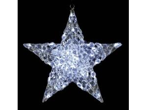 Ακρυλικό αστέρι με 24 Led