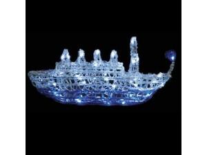 Ακρυλικό καράβι με 64 LED -
