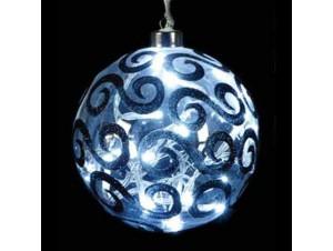 Γυάλινη μπάλα με 20 LED