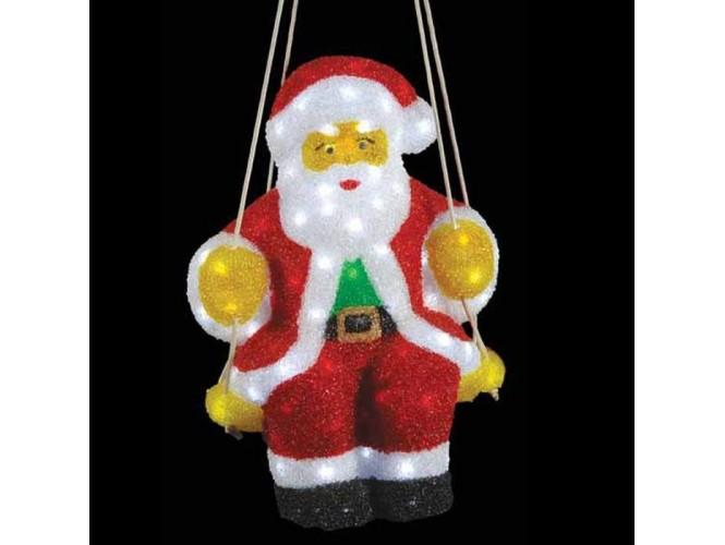 Άγιος Βασίλης Ακρυλικός με 120 LED