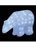 Αρκούδα Ακρυλική με 32 LED