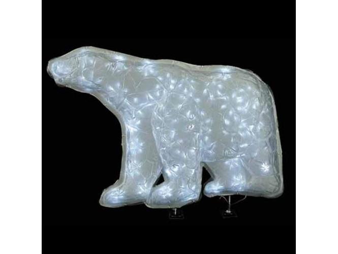 Αρκούδα PVC με 35 LED