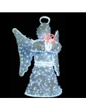 Αγγελος με γέμισμα και LED