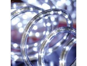 Led Λευκός Φωτοσωλήνας 10 μέτρων με 8 προγράμματα