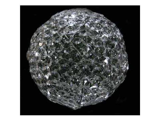 Κρυστάλλινη μπάλα με LED