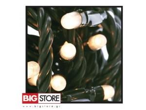 100 Λευκά λαμπάκια δέντρου με 8 προγράμματα ΠΔ