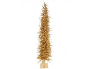 Χρυσό δέντρο 200 εκ με 200 φωτακια