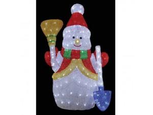 Χιονάνθρωπος Ακρυλικός με 350 LED