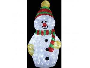 Χιονάνθρωπος Ακρυλικός με 200 LED
