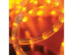 Led Κίτρινος Φωτοσωλήνας 48 μέτρων με 8 προγράμματα