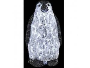 Πιγκουίνος Ακρυλικός με 60 LED
