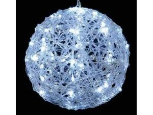 Φωτιζόμενη μπάλα με 80 Λευκά LED