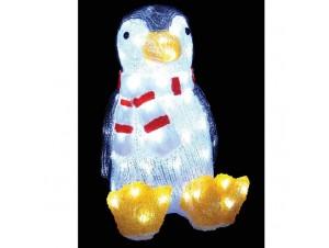Πιγκουίνος Ακρυλικός με 80 LED