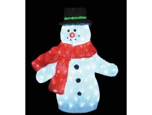 Χιονάνθρωπος Ακρυλικός με 150 LED