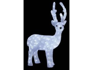 Ελάφι Ακρυλικό με 180 LED
