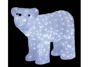 Αρκούδα Ακρυλική με 300 LED