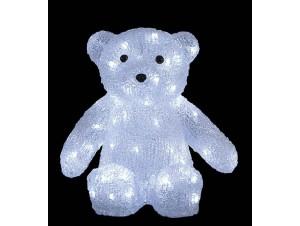 Αρκούδα Ακρυλική με 80 LED