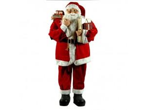 Άγιος Βασίλης Όρθιος με δώρα 120 εκ