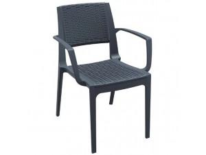 Πολυθρόνα κήπου Πλαστική Capri