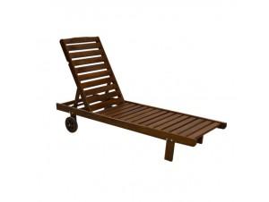 CASABLANCA 302 Επαγγελματική Ξαπλώστρα ξύλινη