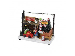 Χριστουγεννιάτικο σπιτάκι φωτιζόμενο 18x10,5x4,5 εκ