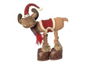 Χριστουγεννιάτικο Διακοσμητικό Τάρανδος 43 εκ.