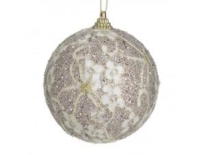 Χριστουγεννιάτικη Μπάλα φελιζόλ 8 εκ