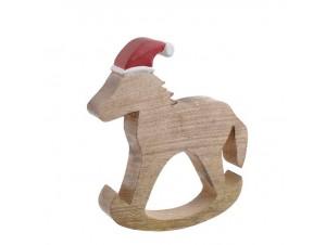 Χριστουγεννιάτικο Διακοσμητικό Αλογάκι 29 εκ.