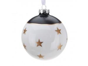 Χριστουγεννιάτικη Μπάλα Γυάλινη 7 εκ