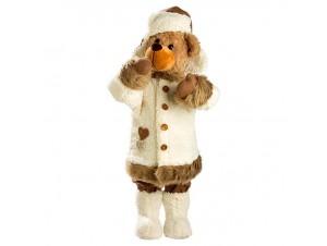 Χριστουγεννιάτικο λούτρινο αρκουδάκι 78 εκ.