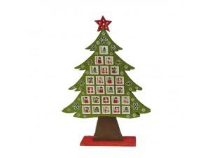 Χριστουγεννιάτικο ξύλινο δέντρο 39 εκ.