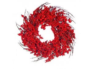 Χριστουγεννιάτικο στεφάνι με Berries 45 εκ.