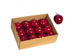 Set 12 τεμ. Διακοσμητικά μήλα 5 εκ.