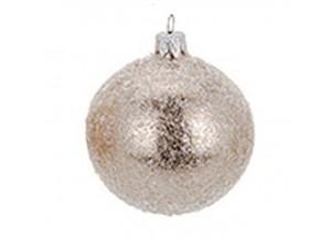Χριστουγεννιάτικη μπάλα σαμπανιζέ 8 εκ