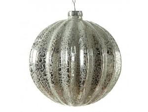 Χριστουγεννιάτικη Μπάλα αντικέ Γυάλινη 9 εκ