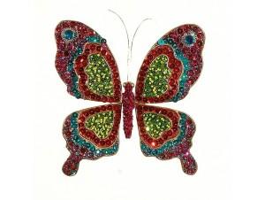 Χριστουγεννιάτικο στολίδι πεταλούδα