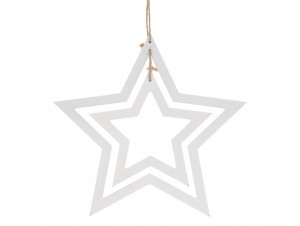 Χριστουγεννιάτικο κρεμαστό αστέρι 31 εκ.
