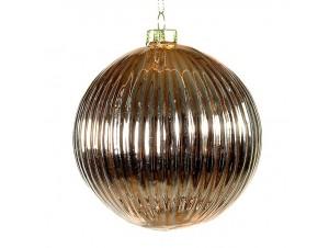 Χριστουγεννιάτικη Μπάλα Γυάλινη 9,5 εκ
