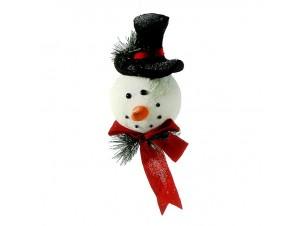 Χριστουγεννιάτικο Κρεμαστό Στολίδι Χιονάνθρωπος