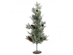 Χριστουγεννιάτικο Δέντρο με κουκουνάρια 60 εκ.