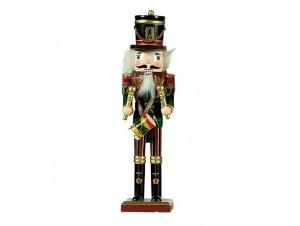 Χριστουγεννιάτικος διακοσμητικός  Καρυοθραύστης 30 εκ