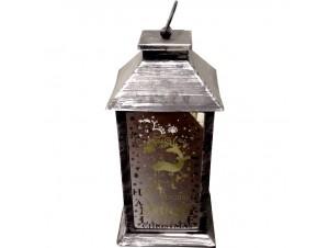 Διακοσμητικό φανάρι-καθρέπτης  14x14x30 εκ.